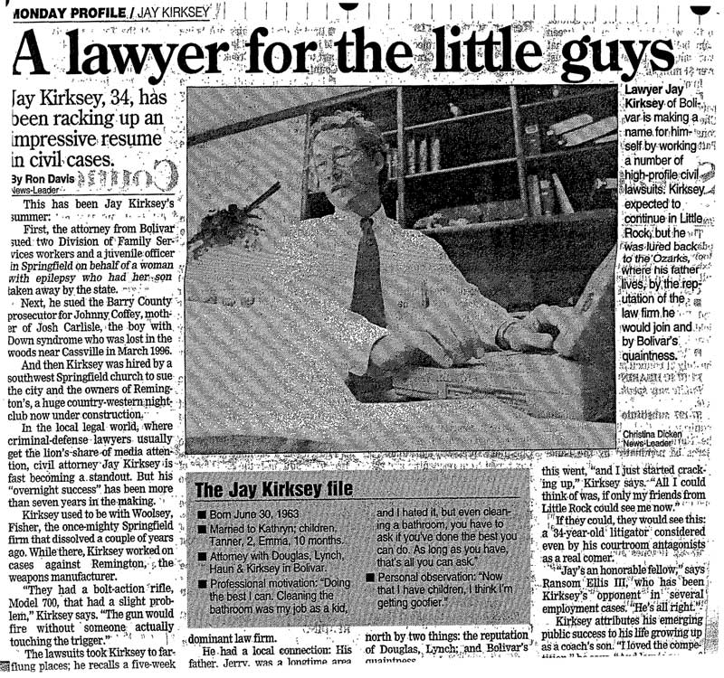 A Lawyer for the Little Guys